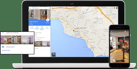 Google Map affichage